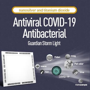LED Panel Antibakteriell