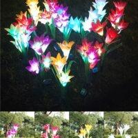 LED Solar Gartenblumen