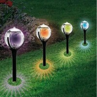 LED Solar Gartenkugel